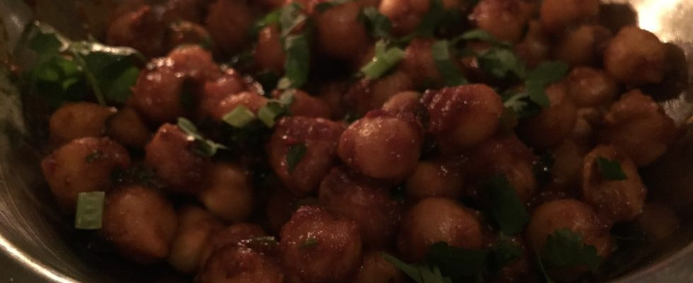 Honey Cinnamon Chickpeas